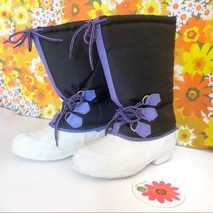 Vintage💜90s Snow Bunny Winter Boots!